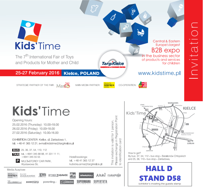 Kids Fair invitation