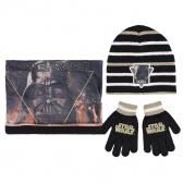 Star Wars autumn / winter hat, chimney scarf and gloves set