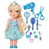 Frozen doll Elsa + accessories