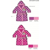 Princess girls bathrobes