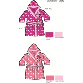 Minnie Mouse girls bathrobes