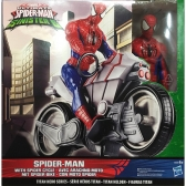 Spiderman chasers blast and go