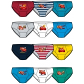 Cars briefs 3 pack