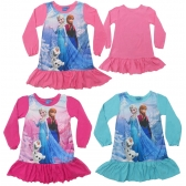 Frozen girls night gown
