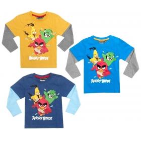 Bluzka chłopięca długi rękaw Angry Birds