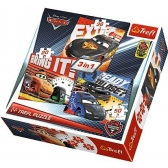 Cars puzzle 3in1