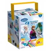 Frozen maxi puzzle in suitcase