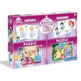 Princess Super Kit puzzle + game set