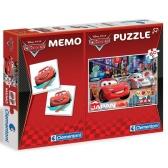 Cars 2 puzzle + memory set 60 el.