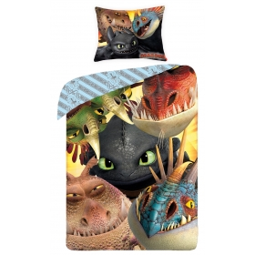How To Train Your Dragon bedset