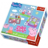 Peppa Pig puzzle 3 in 1