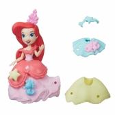 Princess small doll with dress Ariel