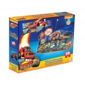 Blaze and The Monster Machines foam puzzle
