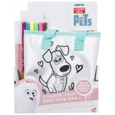 The Secret Life of Pets bag for painting
