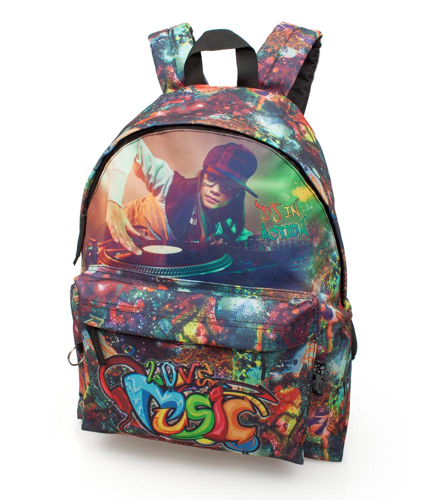 Plecak młodzieżowy Music DJ