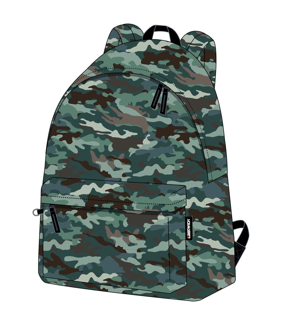 Plecak młodzieżowy Kamuflaż Eastwick