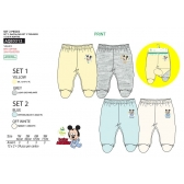 Mickey Mouse baby trousers 2-pack