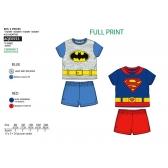 DC Comics baby t-shirt and shorts set