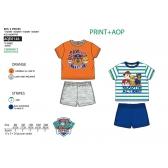 Paw Patrol baby t-shirt and shorts set
