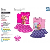 Paw Patrol t-shirt and skirt set