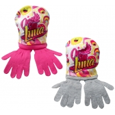Soy Luna hat and gloves