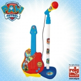 Paw Patrol guitar and microphone set