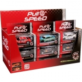 Pull & Speed Mixed Sport Cars Display