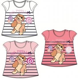T-shirt niemowlęcy Zakochany Kundel