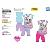 Paw Patrol t-shirt and leggings set