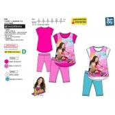 Soy Luna t-shirt and leggings set