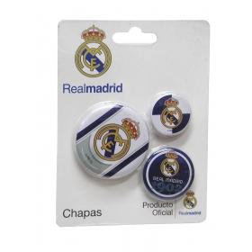 Zestaw odznak – 3 szt. Real Madryt