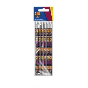 Zestaw ołówków  6 szt. FC Barcelona