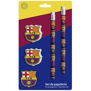 Zestaw przyborów szkolnych FC Barcelona