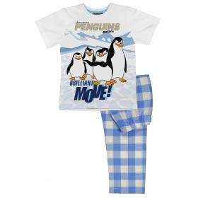 Piżama Pingwiny z Madagaskaru