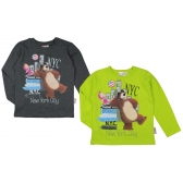 Masha and the Bear long sleeve t-shirt