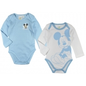 Mickey Mouse long sleeve baby body