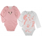 Minnie Mouse long sleeve baby body