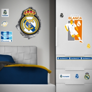 Naklejka ścienna zdejmowalna Real Madryt – 2 arkusze