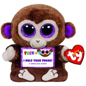 Maskotka / uchwyt na tablet małpka Peek-a-Boos 14 cm