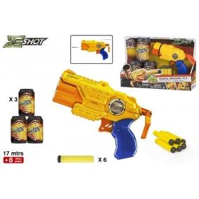 Pistolet micro X-Shot + akcesoria