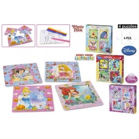 Puzzle + kolorowanki Disney