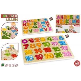 Puzzle literki / alfabet