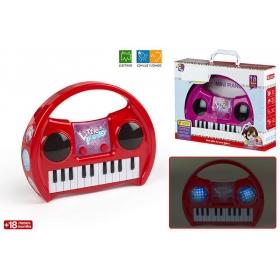Keyboard - światło, dźwięk