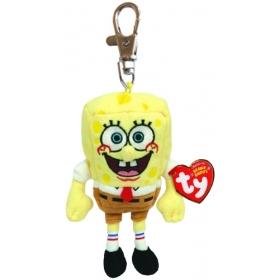 Brelok pluszowy do kluczy Sponge Bob 8,5 cm