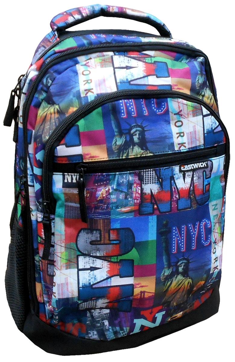 Plecak młodzieżowy 3 komorowy NYC Eastwick