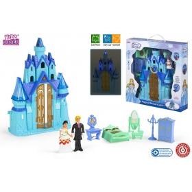 Zamek z figurkami - światło, dźwięk