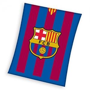 Koc polarowy FC Barcelona