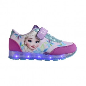 Buty sportowe ze światełkami LED Frozen - Kraina Lodu
