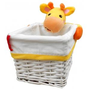 Koszyk wiklinowy – żyrafa Fisher Price
