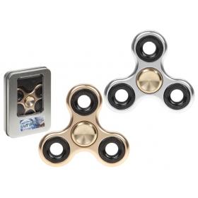 Fidget Spinner Metalowy - ciężki, zabawka zręcznościowa - losowy wzór